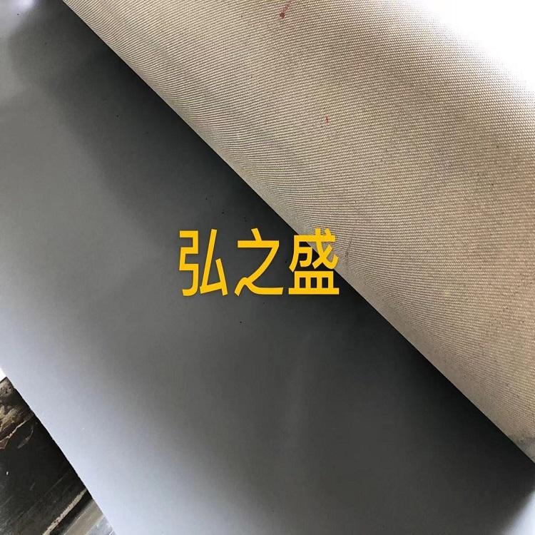 灰色硅胶防火布,硅玻钛金布,风机软连接布新出美图来一波